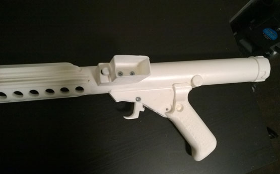 Mag housing attached